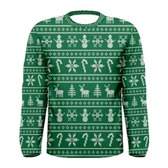 Ugly Christmas Men s Long Sleeve Tee by Onesevenart