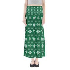 Ugly Christmas Maxi Skirts by Onesevenart