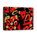 Red artistic design Deluxe Canvas 16  x 12