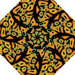 Abstract animal print Straight Umbrellas