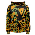 Abstract animal print Women s Pullover Hoodie