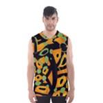 Abstract animal print Men s Basketball Tank Top