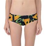 Abstract animal print Classic Bikini Bottoms