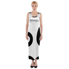 U S  Route 66 Fitted Maxi Dress by abbeyz71