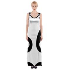 U S  Route 66 Maxi Thigh Split Dress by abbeyz71