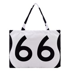 U S  Route 66 Medium Tote Bag by abbeyz71