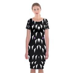 Win 20161004 23 30 49 Proyiyuikdgdgscnhggpikhhmmgbfbkkppkhoujlll Classic Short Sleeve Midi Dress by MRTACPANS