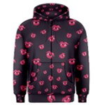 Pattern Of Vampire Mouths And Fangs Men s Zipper Hoodie