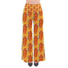 Bugs Eat Autumn Leaf Pattern Pants by CreaturesStore