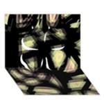 Follow the light Clover 3D Greeting Card (7x5)