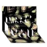 Follow the light Miss You 3D Greeting Card (7x5)