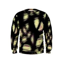 Follow The Light Kids  Sweatshirt by Valentinaart