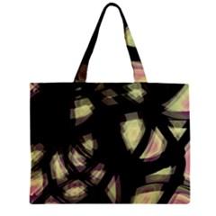 Follow The Light Zipper Mini Tote Bag by Valentinaart