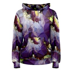 Purple Abstract Geometric Dream Women s Pullover Hoodie by DanaeStudio