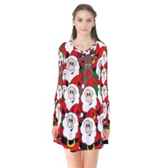 Did you see Rudolph? Flare Dress by Valentinaart
