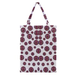 Shimmering Polka Dots Classic Tote Bag by pepitasart