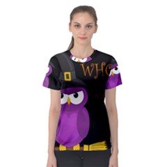 Who Is A Witch?   Purple Women s Sport Mesh Tee by Valentinaart