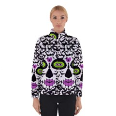 Bat Lady Sugar Skull Winterwear by burpdesignsA
