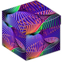 Colorful Rainbow Helix Storage Stool 12   by designworld65