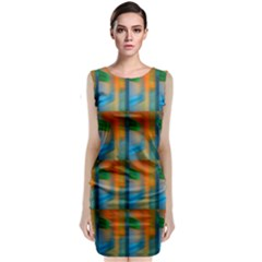 Wall Of Colour Duplication Classic Sleeveless Midi Dress by AnjaniArt