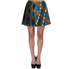Fractal Fractal Art Digital Art  Skater Skirt