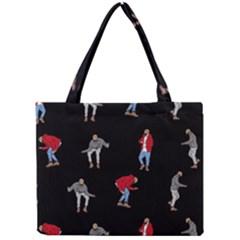 Drake Ugly Holiday Christmas Mini Tote Bag by Onesevenart