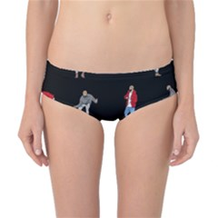 Drake Ugly Holiday Christmas Classic Bikini Bottoms by Onesevenart