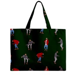Drake Ugly Holiday Christmas 2 Zipper Mini Tote Bag by Onesevenart