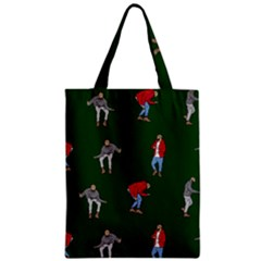 Drake Ugly Holiday Christmas 2 Zipper Classic Tote Bag by Onesevenart