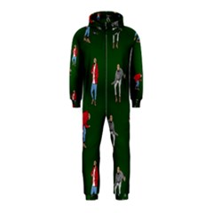 Drake Ugly Holiday Christmas 2 Hooded Jumpsuit (kids) by Onesevenart