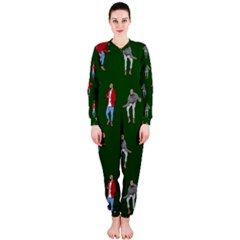 Drake Ugly Holiday Christmas 2 Onepiece Jumpsuit (ladies)  by Onesevenart