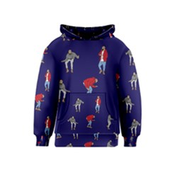 Drake Ugly Holiday Christmas Kids  Pullover Hoodie by Onesevenart