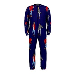 Drake Ugly Holiday Christmas Onepiece Jumpsuit (kids) by Onesevenart
