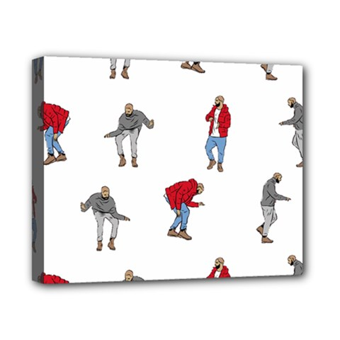Drake Ugly Holiday Christmas Canvas 10  X 8  by Onesevenart