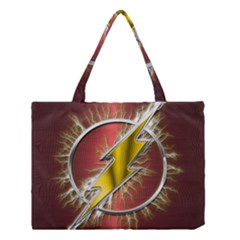 Flash Flashy Logo Medium Tote Bag by Onesevenart