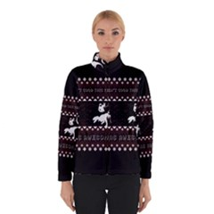 I Wasn t Good This Year, I Was Awesome! Ugly Holiday Christmas Black Background Winterwear by Onesevenart