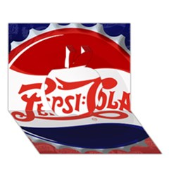 Pepsi Cola Apple 3d Greeting Card (7x5) by Onesevenart