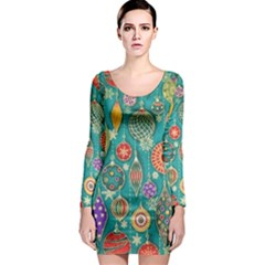Ornaments Homemade Christmas Ornament Crafts Long Sleeve Bodycon Dress by AnjaniArt