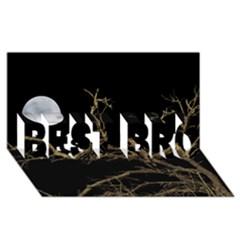 Nature Dark Scene Best Bro 3d Greeting Card (8x4) by dflcprints