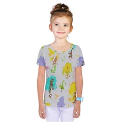 Spots                             Kids  One Piece Tee by LalyLauraFLM