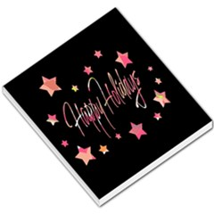 Happy Holidays 3 Small Memo Pads by Valentinaart