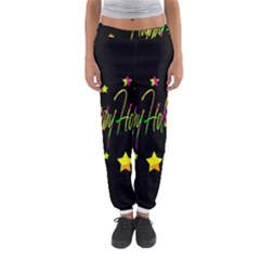 Happy Holidays 4 Women s Jogger Sweatpants by Valentinaart