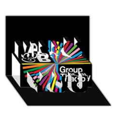 Above & Beyond  Group Therapy Radio Miss You 3d Greeting Card (7x5) by Onesevenart
