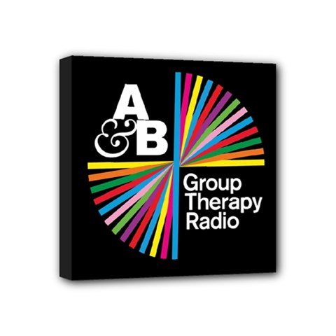 Above & Beyond  Group Therapy Radio Mini Canvas 4  X 4  by Onesevenart