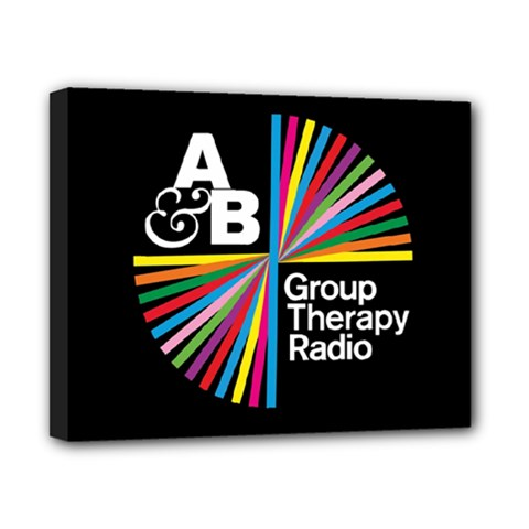 Above & Beyond  Group Therapy Radio Canvas 10  X 8  by Onesevenart