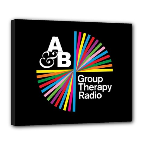 Above & Beyond  Group Therapy Radio Deluxe Canvas 24  X 20   by Onesevenart