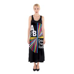 Above & Beyond  Group Therapy Radio Sleeveless Maxi Dress by Onesevenart