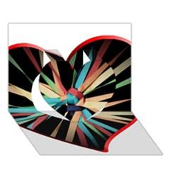 Above & Beyond Heart 3d Greeting Card (7x5) by Onesevenart