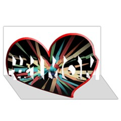 Above & Beyond #1 Mom 3d Greeting Cards (8x4) by Onesevenart