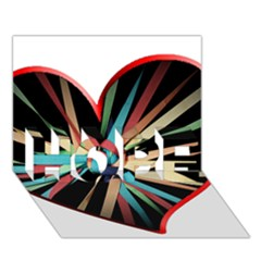 Above & Beyond Hope 3d Greeting Card (7x5) by Onesevenart